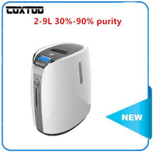 COXTOD 110V/220V 9L large Flow new type home use portable oxygen concentrator generator portable oxygen concentrator