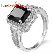 Buy onyx black sterling silver ring and get free shipping on