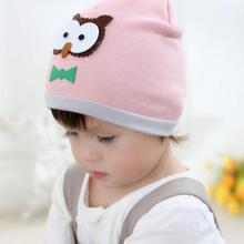Toddler Kids Girl Boy Cartoon Owl Pattern Warm Crochet Knit Beanie Cap Hat Fotografia Newborn Photography Props Baby Accessories(China)