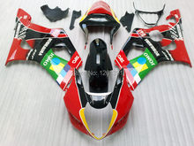 Injection For SUZUKI GSX-R1000 Red Green K3 03 04 GSX R1000 K3 GSXR 1000 2003 2004 GSXR1000 Fairing Kit+7gifts