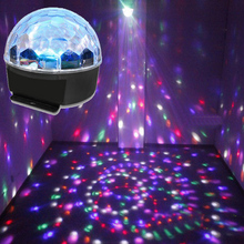 30W RGB LED DMX 512 Stage Lights Crystal Magic Ball Lighting Effect Light For Bar, Party, Nightclub, Disco