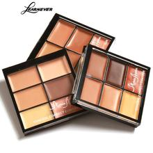 LEARNEVER Professional Fitting Skin Highlight Concealer Palette Cosmetics Foundation Base Contour Palette Camouflage Concealer(China)