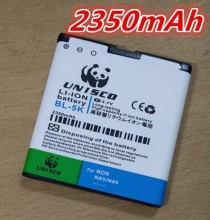 new Battery BL-5K BL5K BL 5K Rechargeable Mobile Phone Accessories Replacement For Nokia N85 N86 C7 C7-00 X7 X7-00