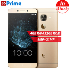 Original Letv X626 LeEco Le S3 Mobile Phone 4G LTE Android 6.0 phone Deca Core Smartphone 4GB 32GB 5.5 Inch FHD 21MP Cellphone(China)