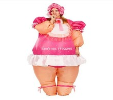 Russian baby doll inflatable costumes new style baby girl Inflatable Costume Adult Fancy Dress Suit Party Halloween Christmas