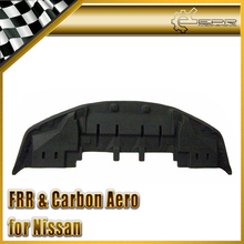 EPR Car Styling Carbon Fiber OEM Front Bumper Bottom Lip With Undertray For Nissan Skyline R34 GTR