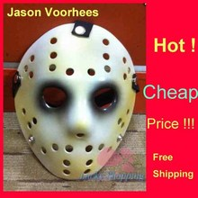 Black Friday NO.13 Jason Voorhees Freddy hockey Festival Party Full Face Old Mask  100gram PVC For Halloween Masks 50pcs/lot