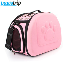 Paw Print Chihuahua Dog Carrier Bag Portable Outdoor Pet Dog Travel Bag For Small Dog Cats