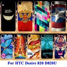 Durable Shell Hood For HTC Desire 820 D820U Cases D820 D820T Dual Sim 820G+ 820S D820Q Housing Covers Skin Back Hard Plastic Bag