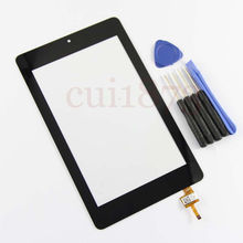 Texted Grade AAA quality Digitizer Touch Screen Glass For Acer Iconia One 7 B1-730HD HD Version free shipping