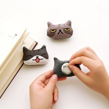 30 pcs SAN-X anime Neko Atsume Kutusita Nyanko cat 3D pin/brooch plush doll toys Kawaii Boots cat badge clothes bags accessories