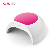 New SUN2 48W Nail Dryer Nail Art Dryer Manicure Tools LED UV Lamp Gel Nail Polish Dryer Power Gel Curing Nail Art Painting(China)