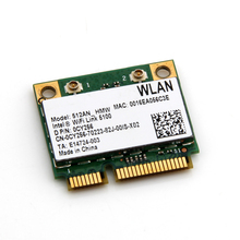 300Mbps Dual band Wlan Network for Intel Wifi Link 5100 AGN 512AN_HMW 300M Wireless-N half Mini PCI-E Card For Asus Acer Dell(China)