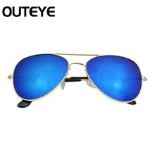 Outeye Brand Designer Children Kids Sunglasses UV400 Mirror Sun Glasses For Children Baby Girl Boys lunette Oversized Shades