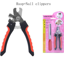 Stainless Steel Pet Nail Clipper Cutter Professional Animal Pet Grooming Scissors for Small Medium Puppy Dog Cats(China)