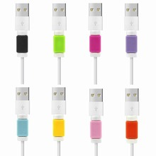 100PCS/Pack Data Line Saver For Lightning Cover USB Protector Cable Liberator for iPhone 6 iPhone6 Plus 5 5S 5C SE 4 USB Charger