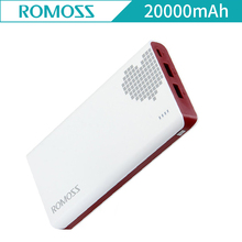 ROMOSS Sense 6 20000mAh Portable Charger Power Bank External Battery Pack Quick Charging Sense6 for iPhone X iphone 7plus Xiaomi(China)