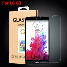 Ultra Thin HD 9H Explosion Proof Premium Hard Tempered Glass For LG G3 LGG3 Screen Protector D855 D850 D830 Protective Film(China)