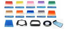 1pcs Adapter ring+ 11pcs Square color Filter Kit + Filter holder+square lens hood+ Filter case For Cokin P series free shipping