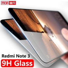 Buy xiaomi redmi note 3 glass tempered xiaomi redmi note 3 pro screen protector glass clear mofi protective glass 9H anti blue film for $6.79 in AliExpress store