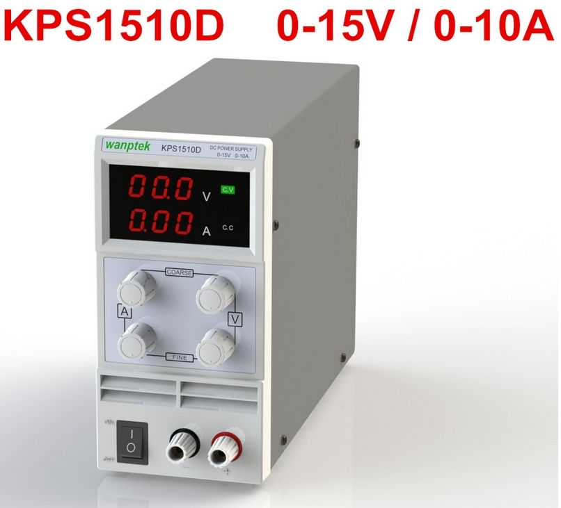 KPS1510D 15V 10A digital adjustable Mini DC Power Supply Switch DC power supply 110/220V 0.1V 0.01A<br>