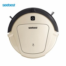 Seebest D750 TURING 1.0 Dry and Wet Mop Robot Vacuum Cleaner with Water Tank and GPS Clean Route Robotic Cleaning Machine