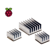 3/set Aluminum Heat Sink Copper Made Dissipate heat For Kit Raspberry Pi 3 Model B Board Rasp PI3 1GB RAM Quad Core For CPU