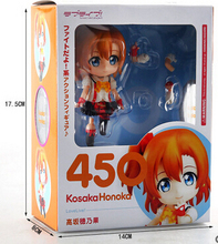 Hot Sale Anime Love Live School Idol Project  Cute Nendoroid 450 # Action Figure Toys T3446