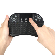 Buy Russian Stock 2.4GHz LED Backlit Wireless Keyboard Touchpad Air Mouse Remote Control Mini Keyboardfor Android TV BOX PC for $9.99 in AliExpress store