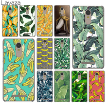 banana leaf pattern Tropical Leaves Fruit Case for Xiaomi Mi 6 5 5s mi6 mi5 mi5s Plus Redmi & Note 2 3 3S 4 4X 4A Prime Pro