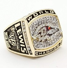 The Best Quality 2000 Super Bowl Baltimore Ravens championship rings(China)