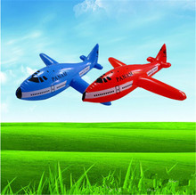 Aircraft Cartoon Plane Inflatable Airliner PVC Plastic Balloons Planes Toys Ballon Kid Birthday Gift Classic Toys