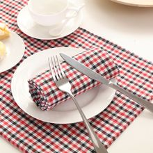 6PCS/LOT Napkins Poly Cotton Napkins Printed Napkins Custom Order45*45CM(18x18 inchs) For Party Wedding(China)
