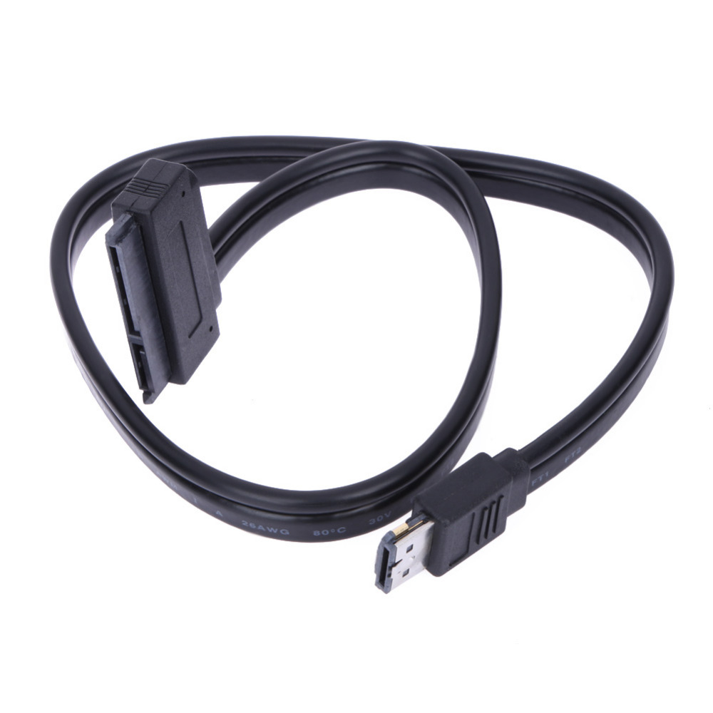 High Quality New Dual Power eSATA USB 12V 5V Combo to 22Pin SATA USB Hard Disk Cable(China)