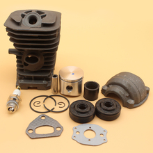 38MM Cylinder Piston Engine Pan Oil Seal Gaskets Kit For HUSQVARNA 136 137 141 142 CHAINSAW NIKASIL PLATED