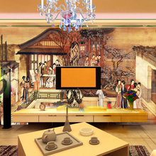 Custom photo wallpaper 3D large Chinese mural living room dining rooms wallpaper mural