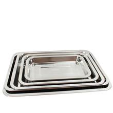 stainless steel pallet grill plate stainless steel plate square plate rectangle plate 32*22cm