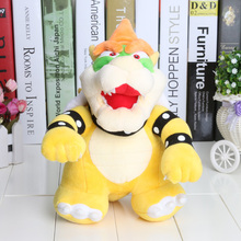 "20pcs/lot High Quality Plush Super Mario Bowser Plush Series Stuffed Toy - 10"" 25cm Bowser(China)"