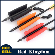 Silica Gel Archery Arrow Puller Gripper Target Remover Black Red Orange Three Color Rubber Archery And Hunting Arrow Puller