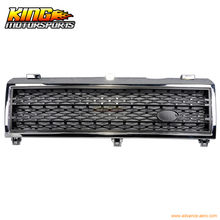 For 2003-2005 Land Range Rover L322 Honeycomb Mesh Front Hood Grille Chrome Black USA Domestic Free Shipping