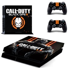 PS4 Designer Skin Decal for PlayStation 4 Console System and PS4 Wireless Dualshock Controller - Call of Duty: Black Ops 3
