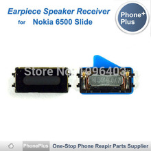 With Tracking Number High Quality Earpiece Speaker Receiver For Nokia 6500 Slide 6500S Earphone Flex Cable Replacement(China)