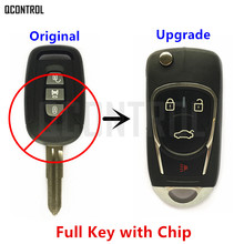 QCONTROL Upgraded Car Remote Key DIY for CHEVROLET/HOLDEN/OPEL/VAUXHALL Captiva Antara 2006 2007 2008 2009 2010(China)