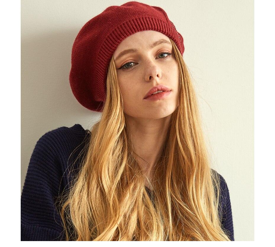 قبعات نسائية عالية الجودة 15