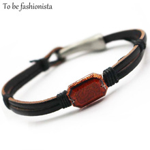jewellery accessories and gifts alloy leather bracelets hook clasp accessories shop vintage accessory for women