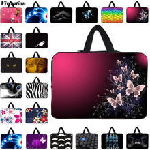10 15 14 12 13 17 Inch Sleeve Neoprene Notebook Bag For Sony Lenovo Yoga Dell HP Laptop Case 13.3 Inch Viviration Fashion Bag(China)