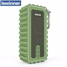 Lewinner New Waterproof Mini Portable Speaker 10W Stereo Wireless Bluetooth Speaker with Ultra Bass HiFi Sound for Outdoor Sport(China)