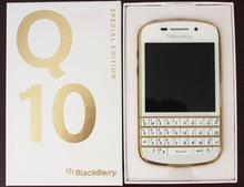 Q10  Original BlackBerry Q10 4G 3.1'' Dual core,Qwerty,Built-in 16GBROM,8MP free DHL/EMS fast shipping