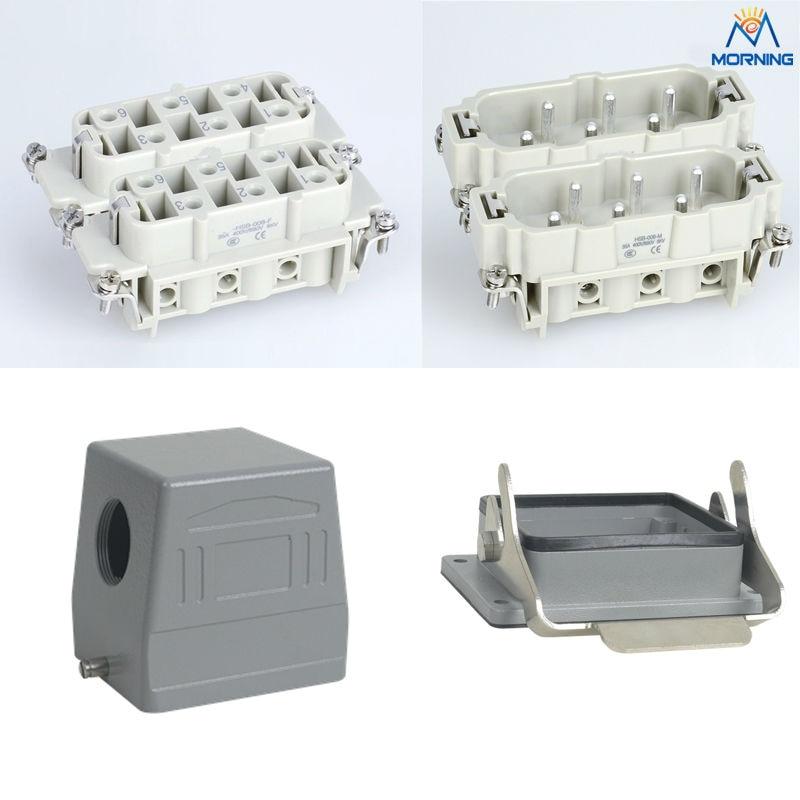 HSB-012 35A  400V/690v 12 Pins Heavy Duty Connector<br>