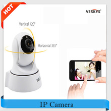 VESKYS Wireless Remote Control PTZ IP Camera WiFi 720P HD 1.0MP P2P Baby Monitor Motion Detection IR-Cut CCTV Security Wifi Cam